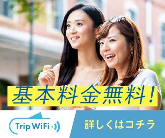 知らなきゃ損!【Trip Wifi】基本料金無料で国内外で使えるお手軽WiFiは頼もしい味方