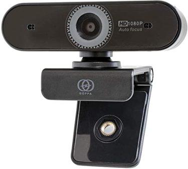 心を揺さぶるGOPPA ウェブカメラ オートフォーカス機能搭載 フルHD 200万画素 1920×1080対応 マイク内蔵 GP-UCAM2FA/E