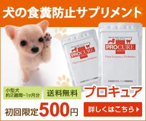 らくちん酵素とプロバイオティクスのペット(犬・猫)用サプリメント【プロキュア】
